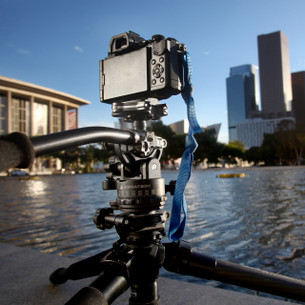Video Ball Head with a DSLR.  From the desert to the city, capture like a pro!