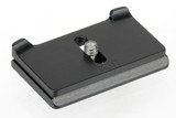Quick Release Camera plate for the Canon Digital Rebel T7i.  Works with Arca Swiss style clamp.