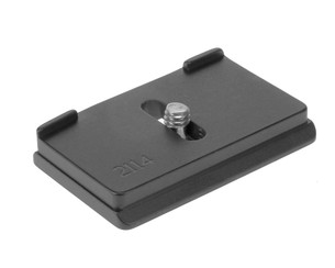 Canon EOS R quick release plate.  This plate will work with all Arca Swiss style clamps.