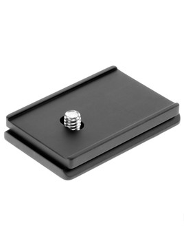 "Quick release plate for Hasselblads with a 1/4""-20 mounting screw hole. This plate is designed to prevent your camera from twisting while your camera is mounted on your tripod head."