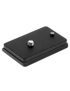 Arca Swiss camera plate. This custom fit is designed to prevent unnecessary twisting and rotating of your camera while it's mounted on your tripod head.