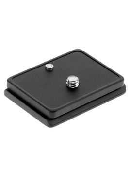 Camera specific plate for the Olympus E-1. The pin prevents unnecessary twisting while your camera is mounted on your tripod head.