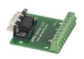 DB9 male breakout board to screw terminals