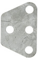 Tower load equalizing plate, three hole, 6.4 mm (.25 in) steel