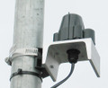Solar insolation sensor mounting bracket