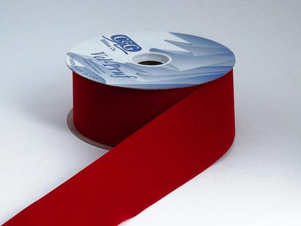 antique red or scarlet cut edge indoor/outdoor velvet
