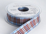 Blueberry Plaid, 20 yards per roll