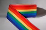 1-1/2 inch Rainbow Ribbon