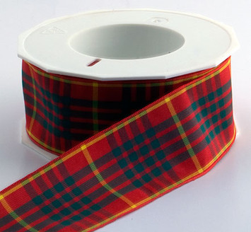 Authentic Clan Cameron Plaid Ribbon