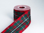 Holiday Tartan Plaid-Authentic Clan MacGregor Ribbon | 25 yards | choice of 5 widths