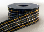 Authentic Irish National Scotch/ Irish Tartan Plaid Ribbon, 25 yards, choice of 5 widths