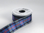 Authentic Flowers of Scotland Tartan Plaid Ribbon