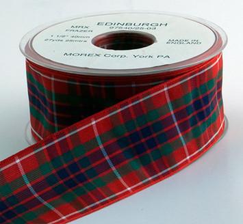 Authentic Frazer Plaid Ribbon