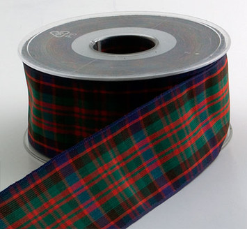 Authentic MacDonald Plaid Ribbon