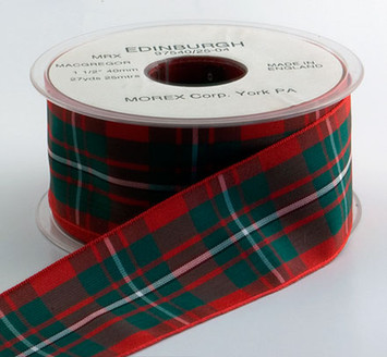 Authentic MacGregor Plaid Ribbon