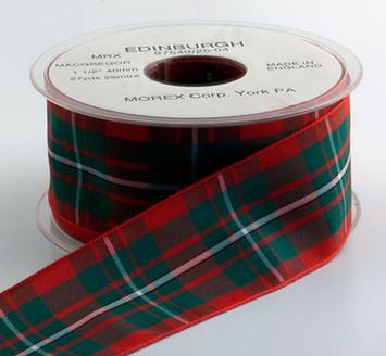 Authentic MacGregor Plaid Ribbon