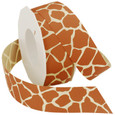 Giraffe Ribbon by the Roll |20 Yards | Two Widths