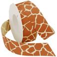 Giraffe Ribbon by the Roll |20 Yards | Two Widths