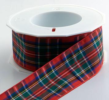 Authentic Clan Royal Stewart Plaid Ribbon