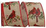 Cardinal Perch Linen |2.5 Inches |10 Yards