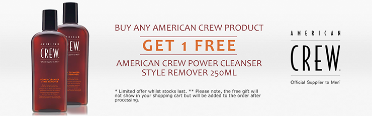 American Crew offer