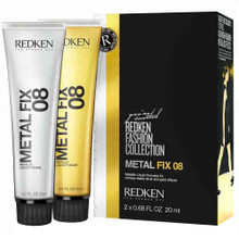 Redken Metal Fix 08 Metallic Liquid Pomade 2x 20ml