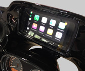 Biketronics XAV-AX5000 with Biketronics Brow and Radio Wrap water resistant.