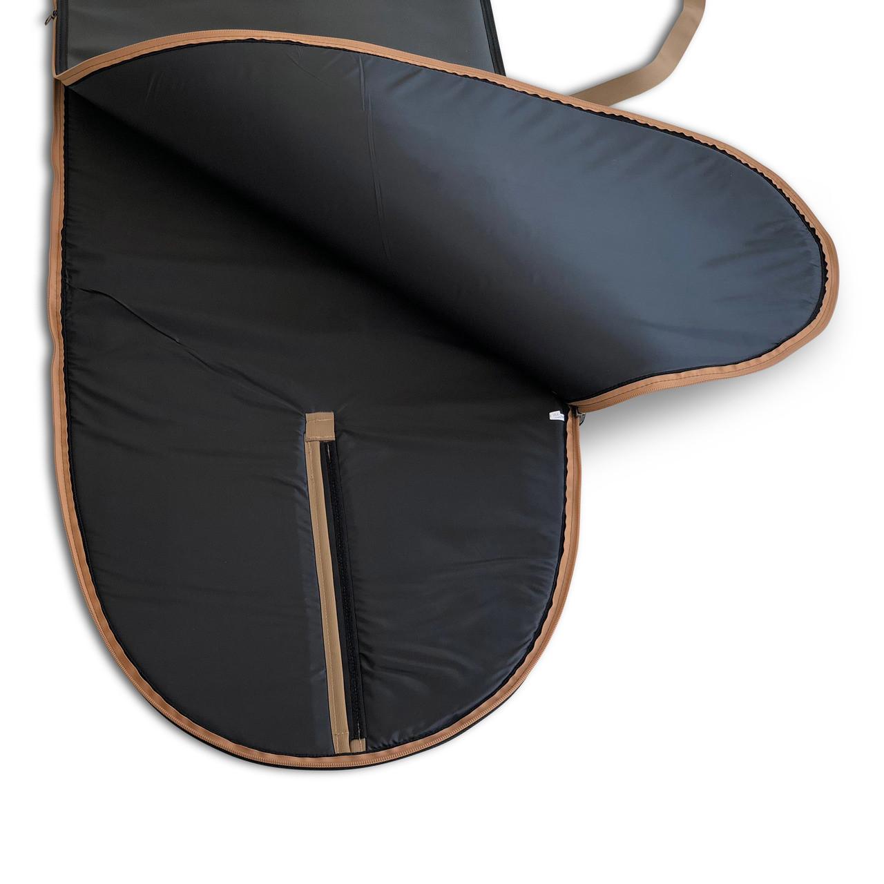 Luxe Leather Longboard Bag