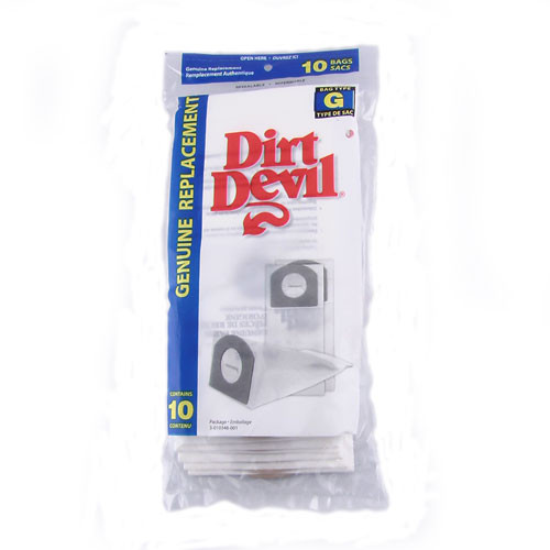Buy Dirt Devil Type G Hand Vacuum Bags 3010348001 10pk
