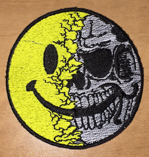 pip skull patch shield shaped patch with loop velcro174 brand