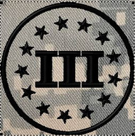 3 Percenter patch