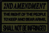 2nd amendment morale patch