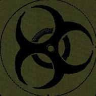 Biohazard Velcro Patch