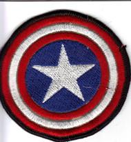 Captain America's Shield Patch