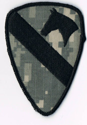 1st Cavalry  military Patch