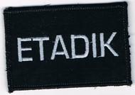 ETADIK  velcro Patch
