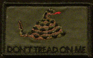 dont tread on me velcro patch