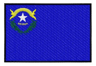 Nevada Flag Patch Full Color
