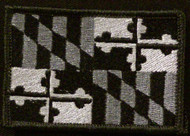 maryland state flag patch