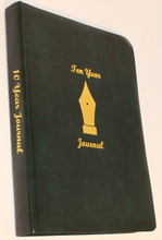 Ten Year Journal Green Cover