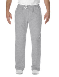 Sport Grey - 12300 Gildan Open Bottom Pants With Pockets | T-shirt.ca