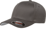 Dark Grey - FF6277 Flexfit Wooly Combed Cotton Blend Cap | T-shirt.ca