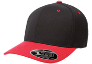 Black/Red - FF110C FlexFit Cool & Dry Pro-Formance Cap | T-shirt.ca