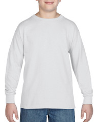 White - 5400B Gildan Heavy Cotton Long Sleeve Tee | T-shirt.ca