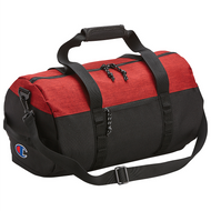 Heather Red Black - CS2000 Champion Barrel Duffle Bag