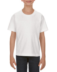 White - 3381 Alstyle Classic Youth Tee | T-shirt.ca