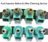 Fuel Injector Cleaning - Before & Aftrer