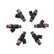 Set of 6 Racing Performance Fuel Injectors 1000 cc/min at 43 PSI