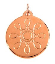 BioResonance PRO Pendant in Champagne  Rose Gold