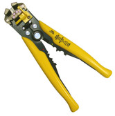 Deluxe Self Adjusting Wire Stripper-Cutter-Crimper